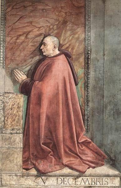 Portrait Of The Donor Francesco Sassetti